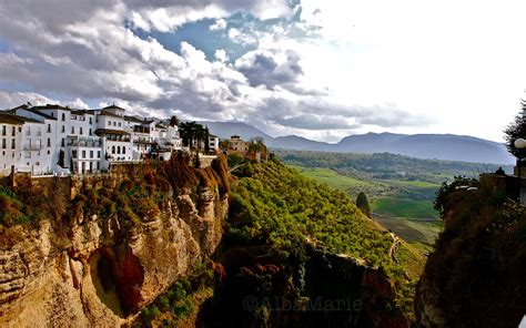 Cliffs In Ronda Spain Top Most Beautiful Places In Europe