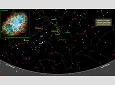 Sky Map Star Chart February 2018 Old Farmer's Almanac
