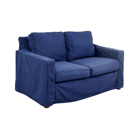 pottery barn loveseat slipcovers 90 pottery barn pottery barn cameron navy twill