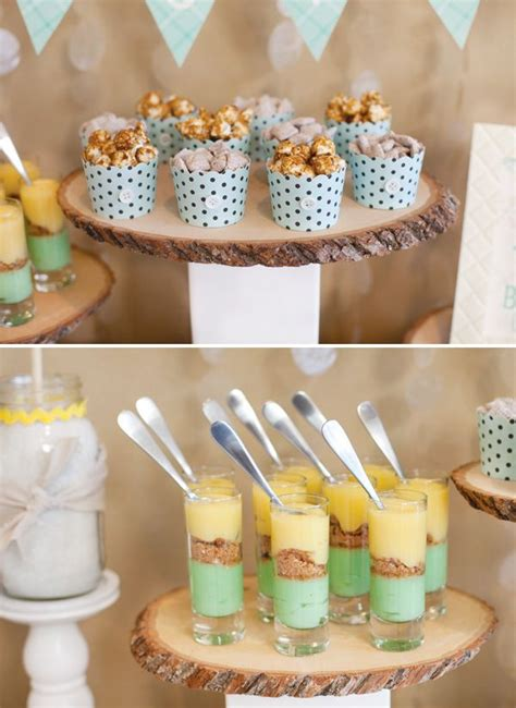 baby shower dessert ideas winter baby shower desserts baby bridal showers pinterest