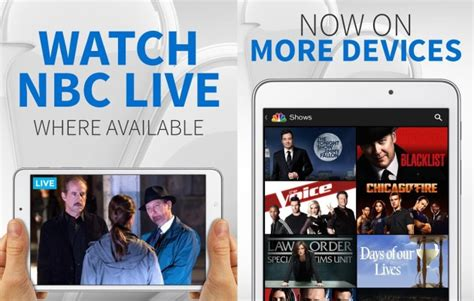 Nbc Brings Live Streaming And Improved Search To It's