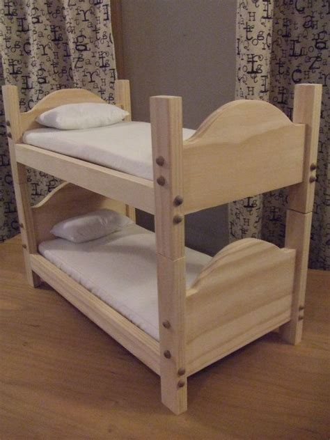 diy   doll bunk bed woodworking projects plans