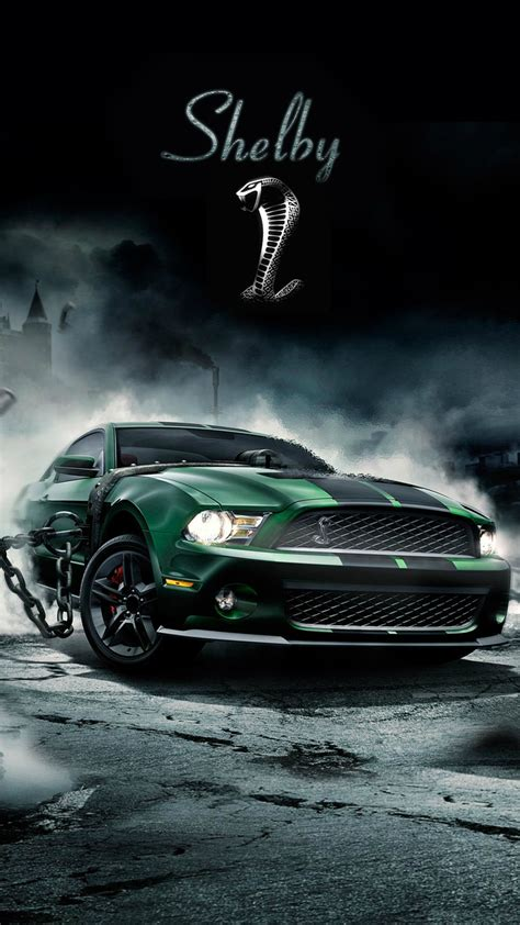 shelby cobra muscle car iphone  wallpaper iphone
