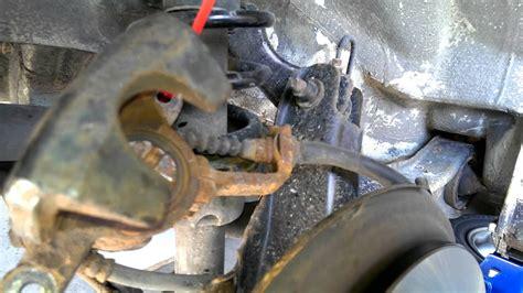 acura integra complete brake change youtube