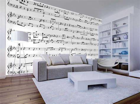 partition de musique papier peint panoramique notes de