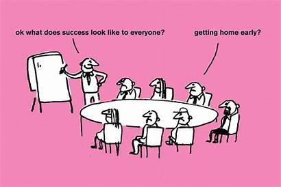 Scientist Modern Toss Cartoon Meeting Master