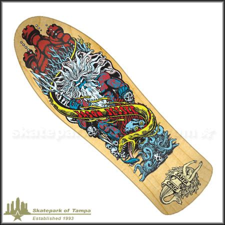 Jason Jessee Signed Deck by Santa Jason Jessee Neptune Powerply Deck In Stock At