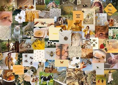 Custom Collage Aesthetic Laptop Core Honey Wallpapers