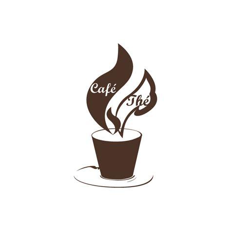 stickers ecriture pour cuisine sticker cuisine thé ou café rétro avec textes et tasse