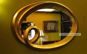 Wandspiegel Groß Ohne Rahmen : wandspiegel spiegel oval modern gold125x85cm barock antik rahmen spiegel ~ Bigdaddyawards.com Haus und Dekorationen