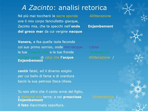 Analisi Testo Foscolo by A Zacinto Testo 28 Images A Zacinto A Zacinto Sonetto