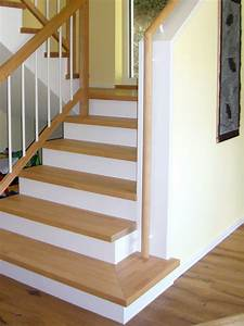 Holzstufen Auf Beton : gel nder und stufen f r bestehende treppen ~ Michelbontemps.com Haus und Dekorationen