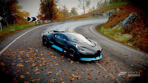 The long road to the divo's reveal has been filled with teasers and we still have to wait three more days to see bugatti's new hypercar. Wallpaper : Forza Horizon 4, Bugatti Divo, racing, drift, road 1920x1080 - modio - 1699683 - HD ...