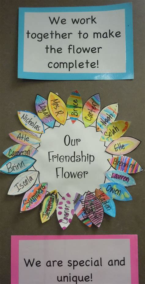 a friendship flower we read the crayon box that talked by 123 | 9c1153a9698f268b12f73a4cd388d2e1