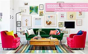 how to hang art correctly emily henderson With kitchen cabinet trends 2018 combined with men s apartment wall art