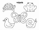 Stick Popsicle Drawing Puppets Animal Printable Templates Cut Drawings Coloring Puppet Animals Template Kindergarten Pencil Outline Doodle Draw Beginners Slides sketch template