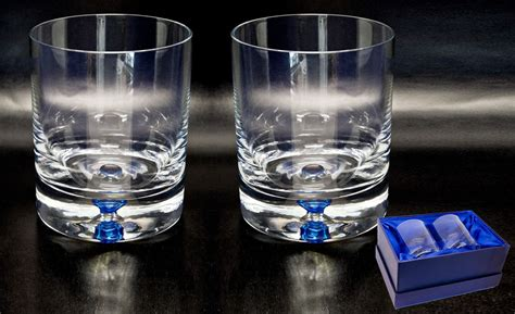 Whiskey Barware by Base Glasses Personalised County