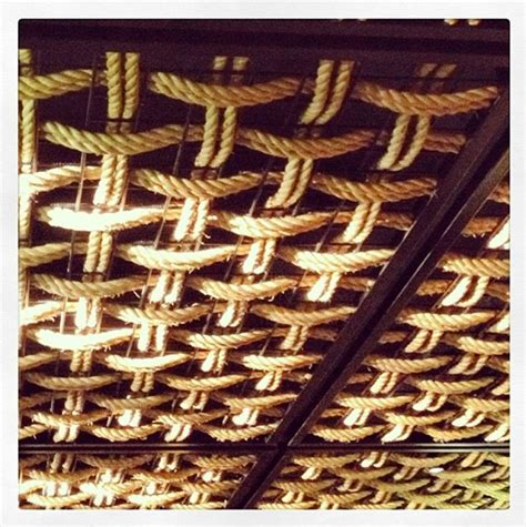 pic   handwoven rope ceiling  gochi japanese