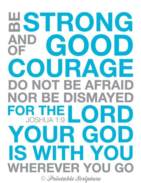 Bible Quotes On Courage Quotesgram