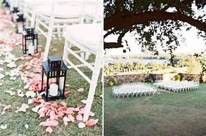 bella collina a blush outdoor wedding a chair affair inc With outdoor wedding aisle decor