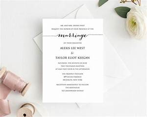 diy wedding invitation printable wedding templates and With diy wedding invitations on mac