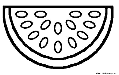 watermelon fruit sf coloring pages printable