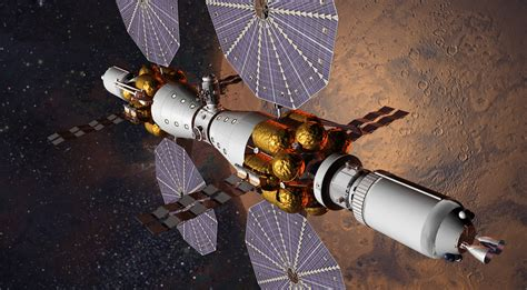 Lockheed Wants Launch Manned Mars Base Camp Mission