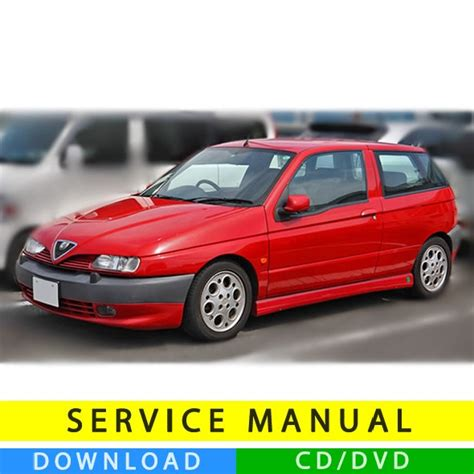 Alfa Romeo 145 Service Manual (19942000) (multilang