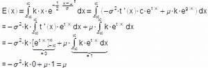 Dichtefunktion Berechnen : erwartungswert einer normalverteilten zufallsvariablen controwiki ~ Themetempest.com Abrechnung