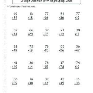 good st grade math worksheets printable  grade math