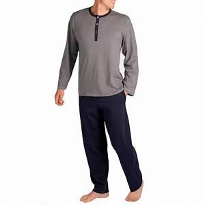 Pyjama Homme La Halle : pyjama homme coton ~ Melissatoandfro.com Idées de Décoration