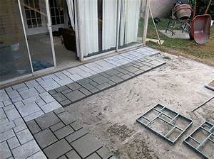 9 diy cool creative patio flooring ideas the garden glove With easy diy patio floor ideas