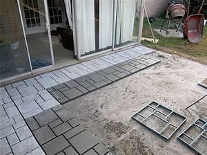 9 diy cool creative patio flooring ideas the garden glove With easy diy patio floor ideas