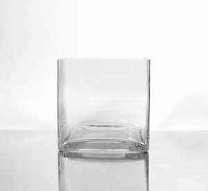 5 Inch Square Vase by 12pc Clear Square Glass Vase Cube 5 Inch 5 Quot X 5 Quot X 5