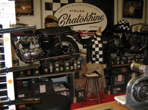 magasin vetement de cuisine déco garage moto vintage