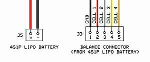 charge balance connector wiring diagram grounding With lipo battery wiring