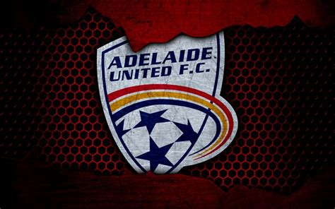 Current squad details player stats bookmark 777score.com. Download wallpapers Adelaide United, 4k, logo, A-League ...