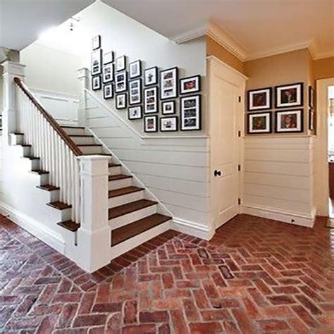Shiplap Wainscoting by Shiplap Wainscoting Home Decor Ideas Brick Flooring