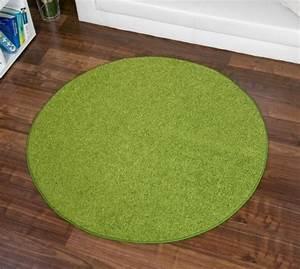Teppich Rund 160 : hochflor teppich hochflor teppich fontana gr n rund gr e ausw hlen 160 cm rund ~ Markanthonyermac.com Haus und Dekorationen