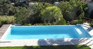 Piscine A Débordement : piscine d bordement par piscines marinal ~ Farleysfitness.com Idées de Décoration