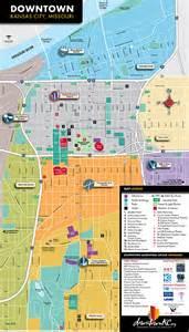 Map of Downtown Kansas City Area