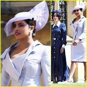 Priyanka Chopra Joins Abigail Spencer at Royal Wedding ...