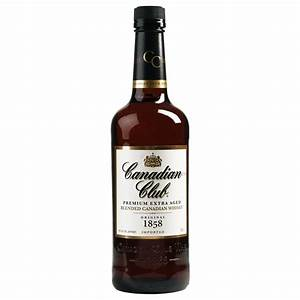 Canadian Club Premium Extra Aged Blended Canadian Whiskey ...