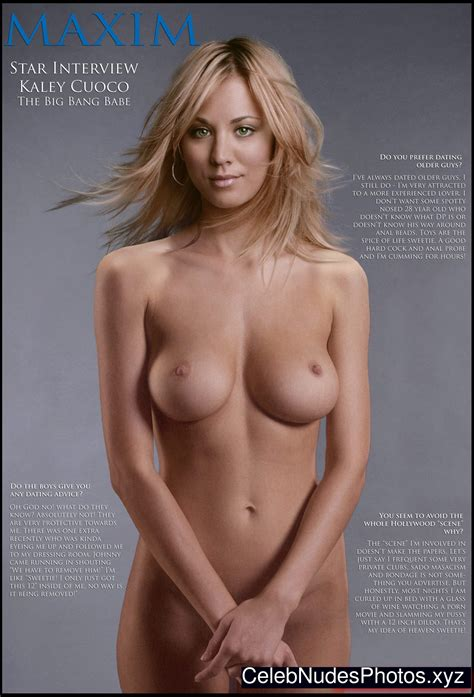 Kaley Cuoco Naked Celeb Nudes Photos