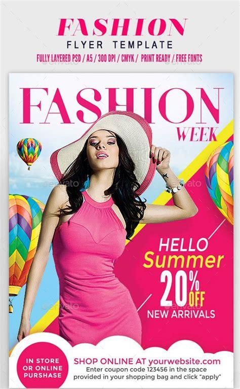 30 best fashion flyer templates