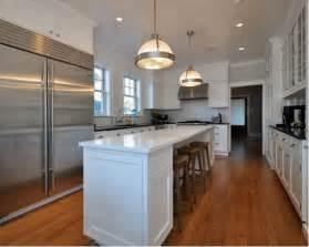 Narrow Kitchen Ideas With Island by Narrow Kitchen Island Houzz