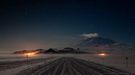 long dark winter   south pole antarctica journal