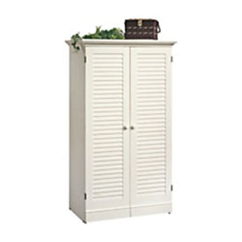 Sauder Harbor View Craft Armoire - sauder harbor view craft armoire antique white by office