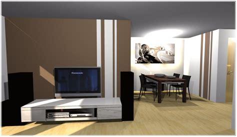 Wände Im Wohnzimmer by Wande Farbig Gestalten Parsvending