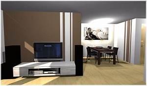 Wände Gestalten Farbe : w nde gestalten im wohnzimmer hauptdesign ~ Sanjose-hotels-ca.com Haus und Dekorationen